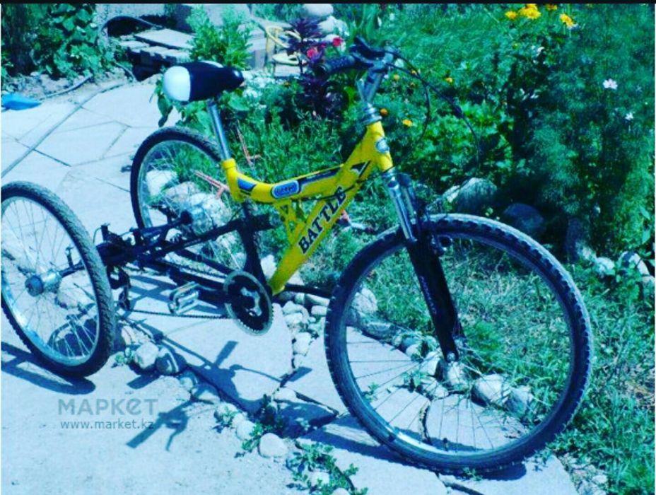Трицикл трёхколёсный велосипед