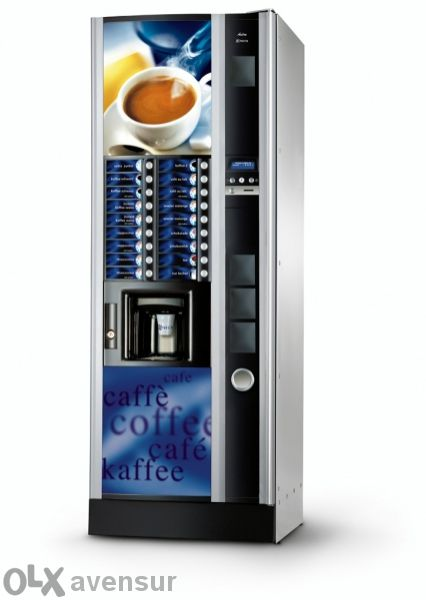 Поставяне на вендинг автомати.кафе автомат за вашият обект.