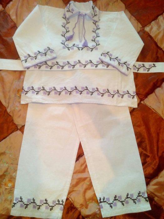 Costum popular baieti 7-8 ani
