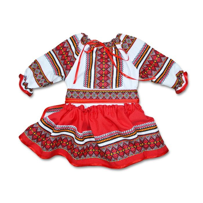 Costum national fete | Costum popular bebe | Costum traditional botez