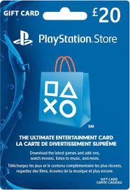 Cartão PSN PS4