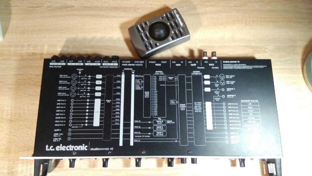 Placa de sunet Tc Electronic Konnekt 48