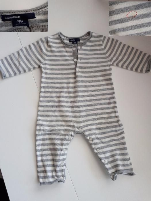 Дрехи бебе момче 3-6 месеца (яке, гащеризон, дънки, ромпер) Gap, Next