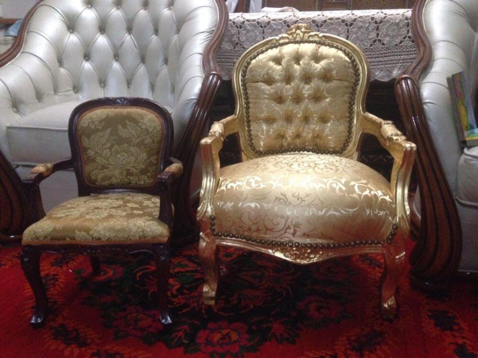 Роскошное детское антикварное кресло - трон! Для маленькой принцессы!