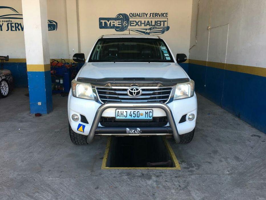 Toyota D4D Dakar