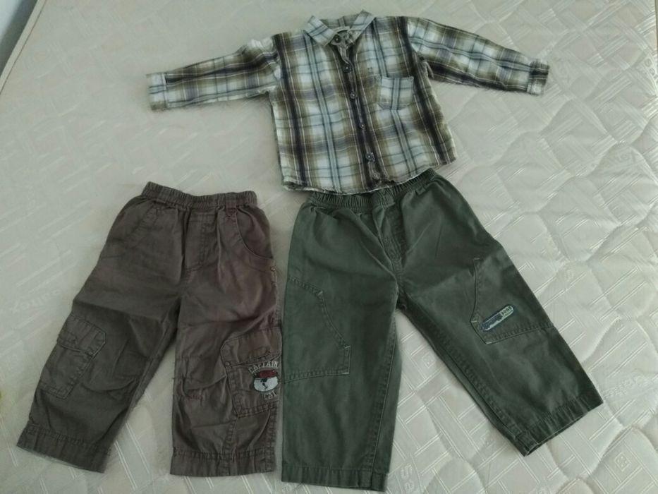 Lot pantaloni si cămașă 18 luni