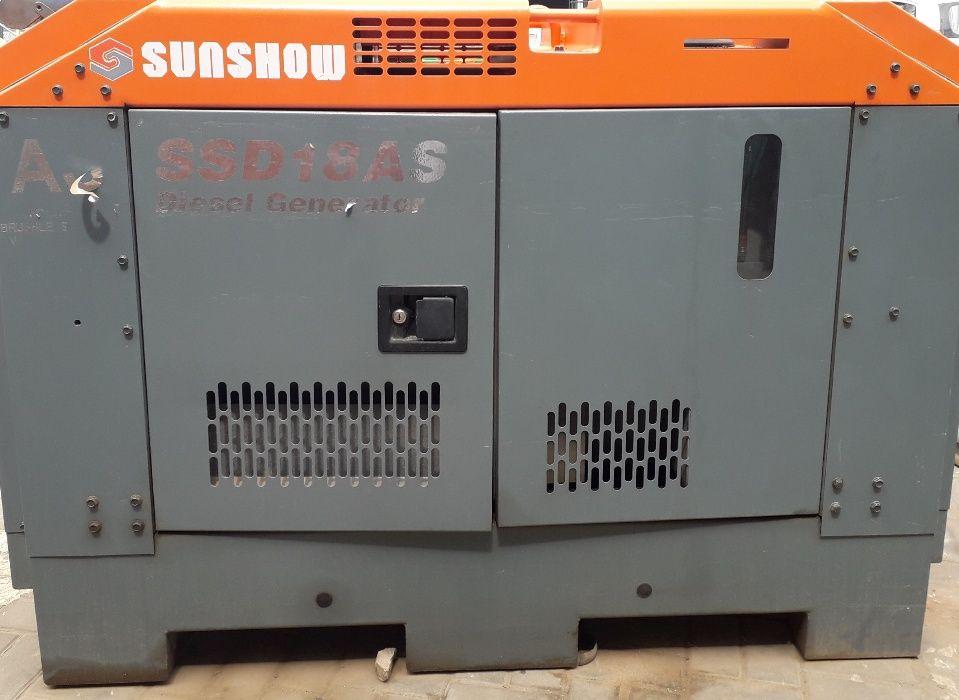 Diesel gerador 13 KVA SSD18AS