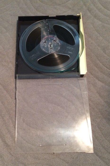Benzi magnetofon Scotch cutie plastic 19 cm deschidere dubla