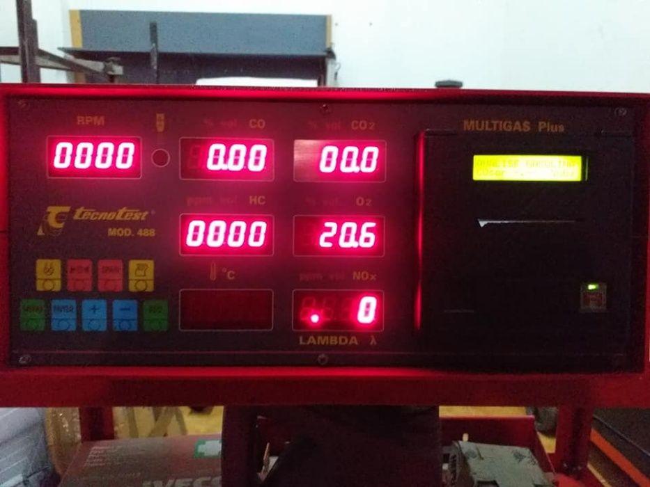 Analizador de gases tecnoteste