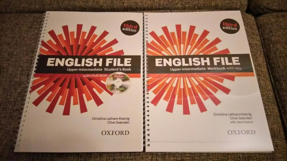 ENGLISH FILE (third edition) все уровни!
