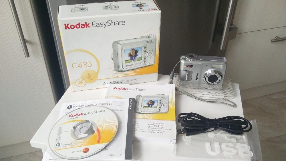 Фотоапарат Kodak EASYSHARE C433 + карта