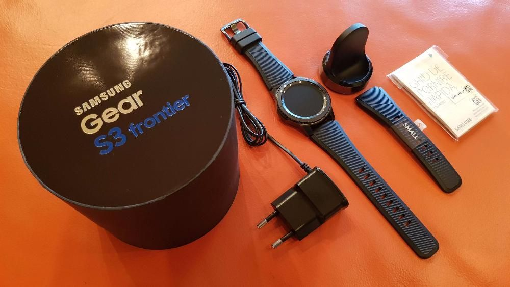 Samsung Gear S3 Frontier – Model de Top - Full Box – ca NOU -10/10