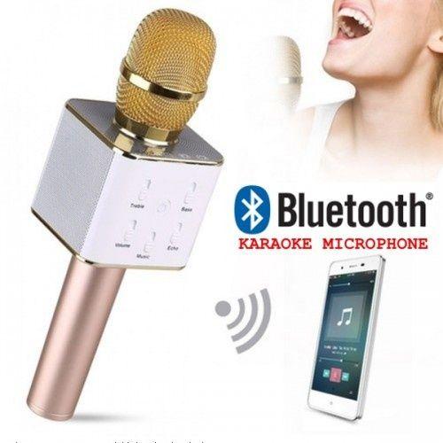 Караоке Bluetooth микрофон с вградени тонколони