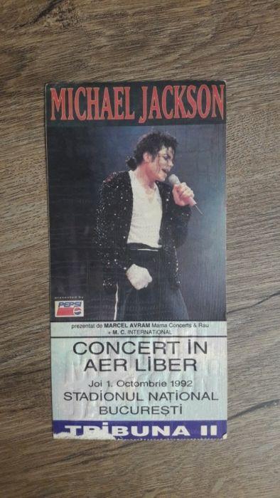 Bilet concert Michael Jackson 1992