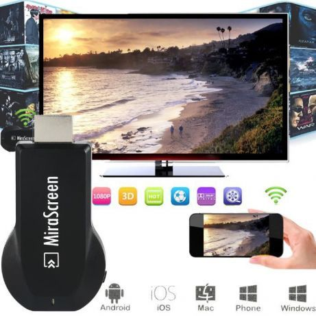 Mirascreen WiFi HDMI stick TV
