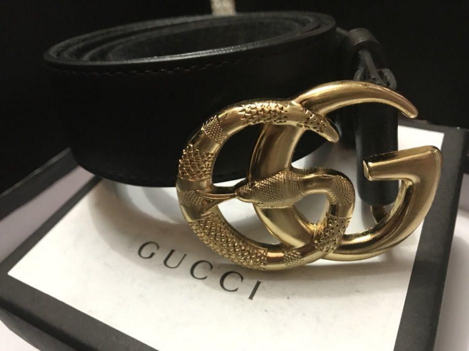Curea piele naturală Gucci ! Colecția 2017