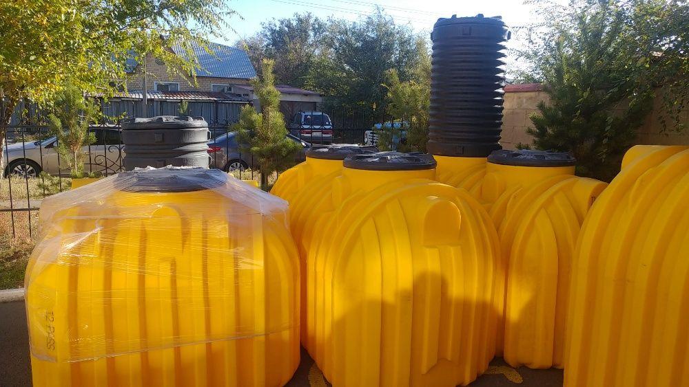 Емкость для воды, резервуар, бочка, для подземной установки, септик