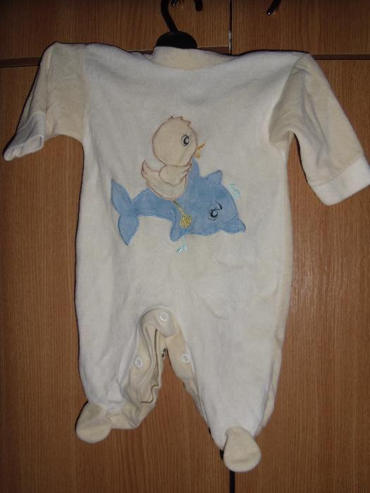 salopete bebe 2-4 luni