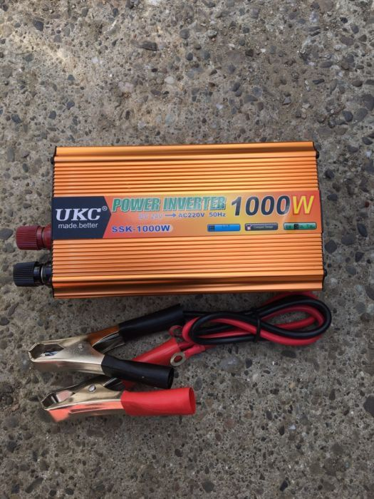 Invertor de curent 1000W -24V- ( tir,auto)
