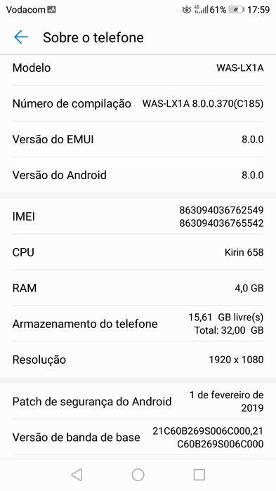 HUAWEI P10 32GB 4GB ram