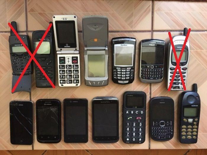 Telefoane defecte, pentru piese LOT (Samsung, LG, Nokia, HTC, APPLE)