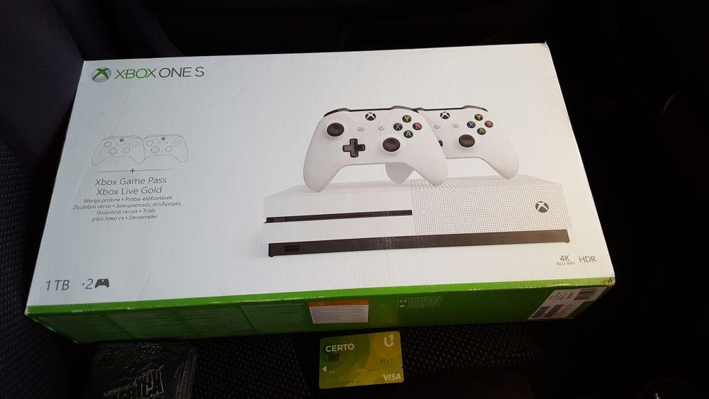 Xbox one S 1TB Promoção do
