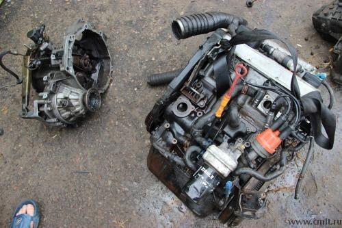пасат гольф Двигатель Фольцваген коробка навесное рейки из европы