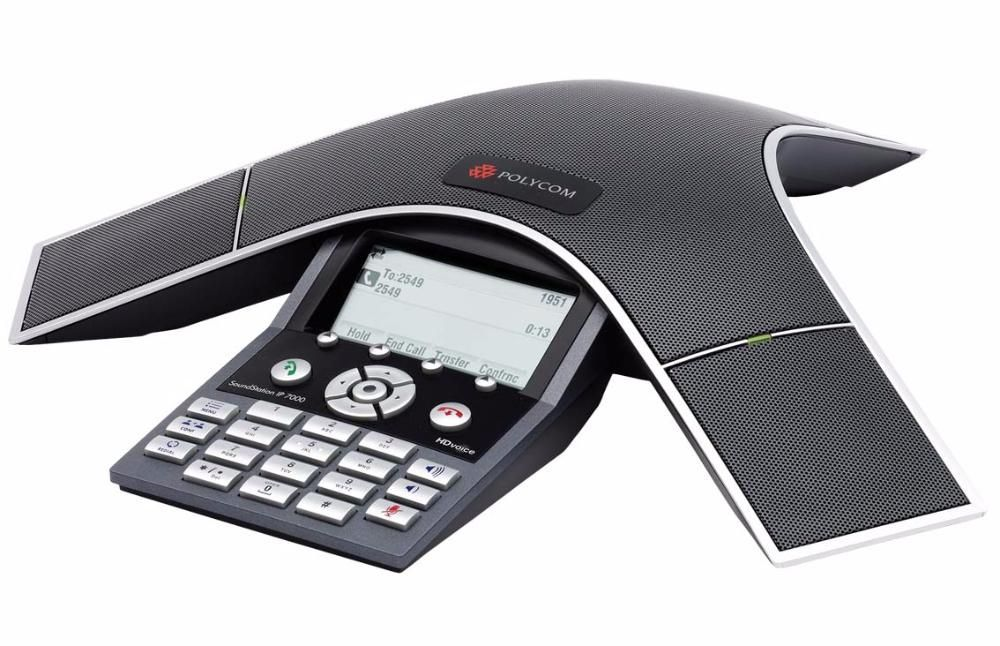 Sistem conferinta Polycom SoundStation IP 7000, absolut nou in cutie