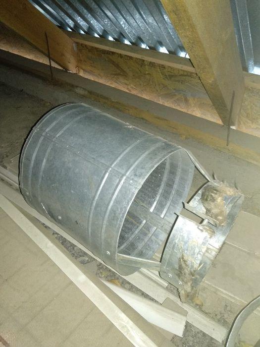 Антиветровая труба дефлектор