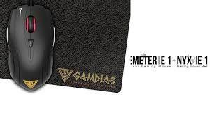 Mouse Gaming Gamdias DEMETER E1 + Include mouse pad GAMDIAS NYX E1