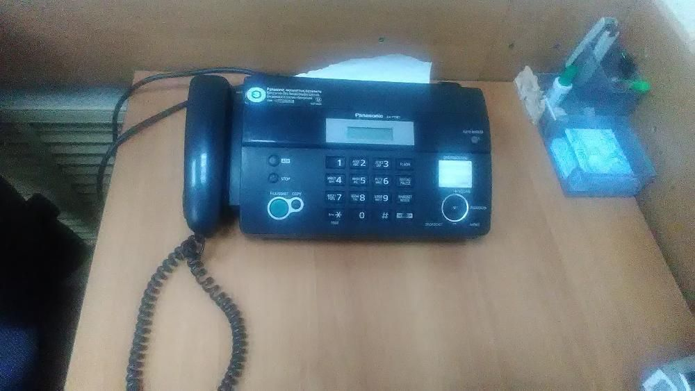 Факс Panasonic KX-FT 982CA-B