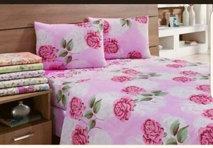 Vendo lençois de várias cores para todo tipo de cama