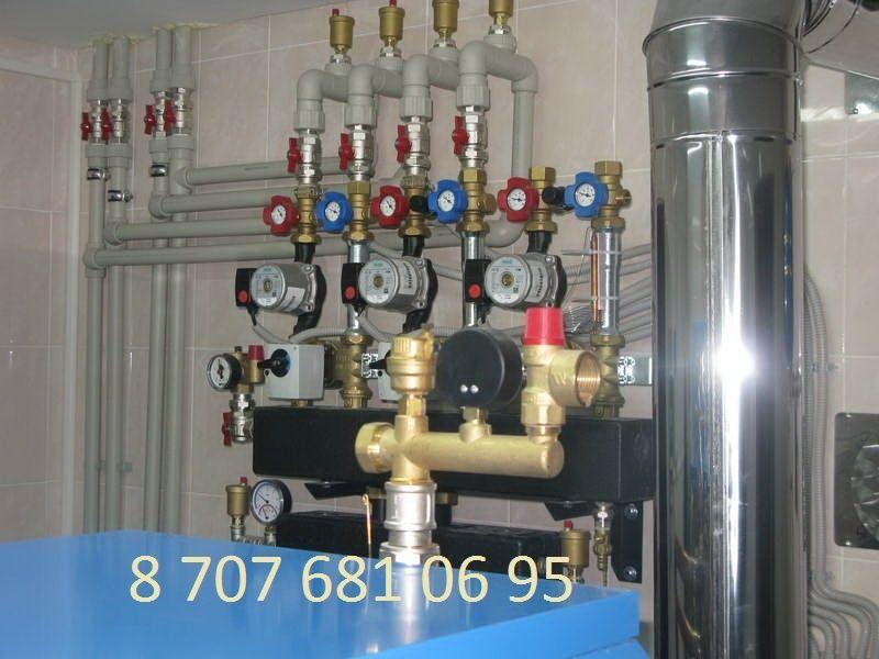 Монтаж, ремонт систем отопления, водоснабжения, профессионально.