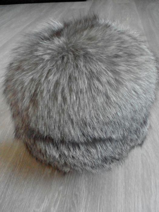 Продам шапку из меха чернобурки