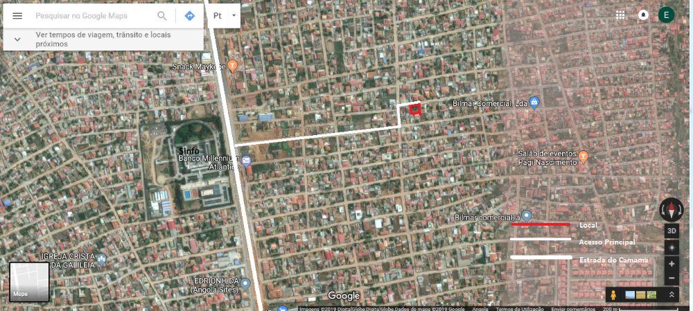 Terreno no Camama com Localização Previlegiada