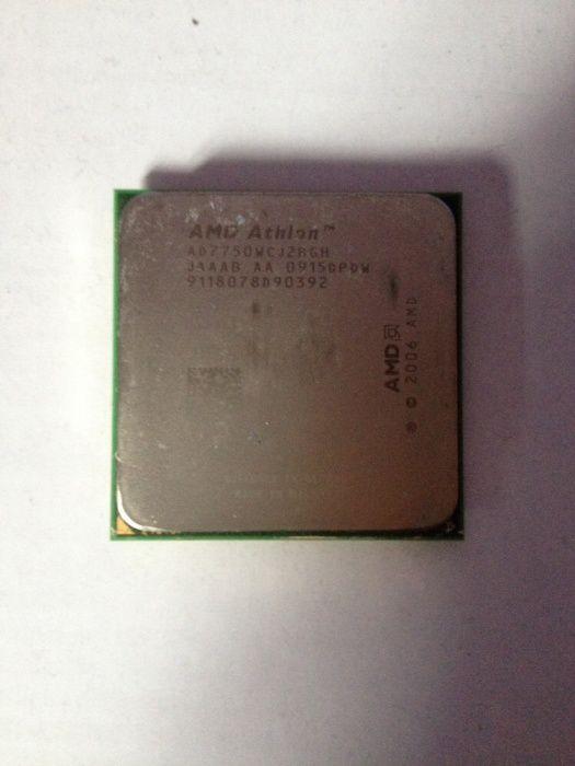 Procesor Model 7750 Athlon 2,7 Mhz dual core