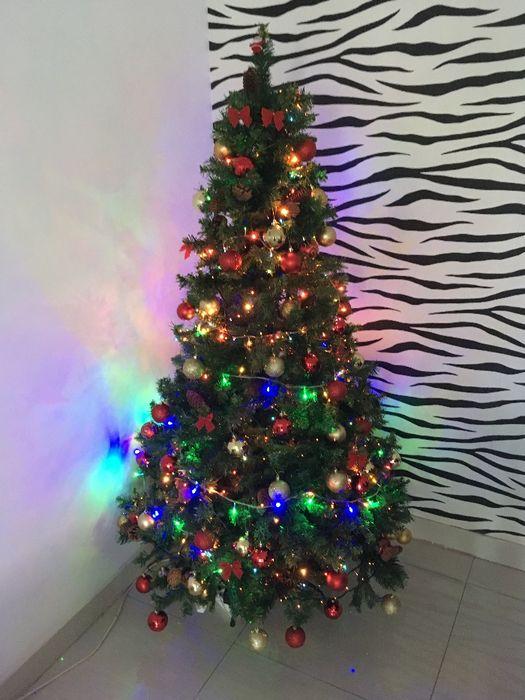 Arvore de Natal + Enfeites e Luzes