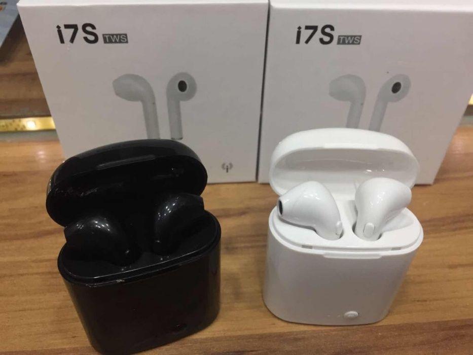Vendo i7s tws airpods sem fios bluetooth nas cores branca e preta