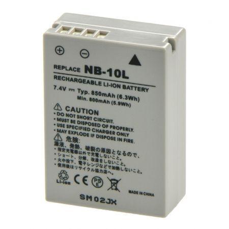 Acumulator BATERIE NB-10L Pentru aparat foto CANON SX60 750Mah G1X G15