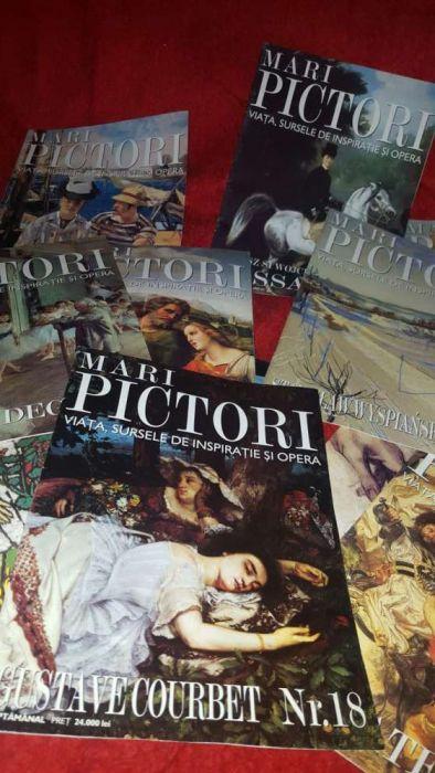 Colectie reviste picturi
