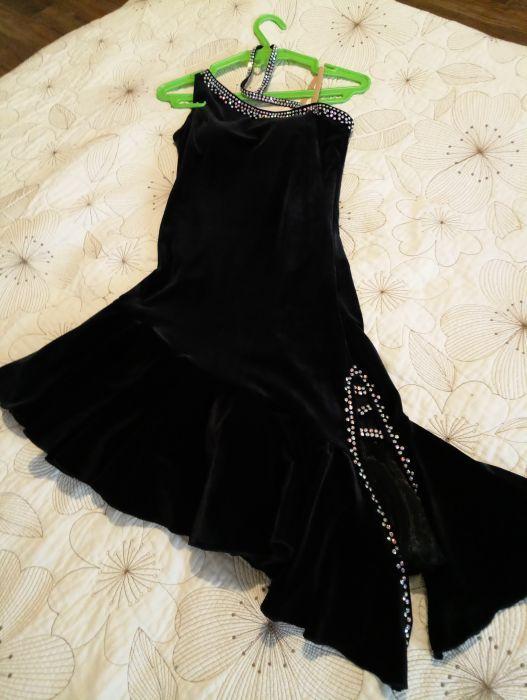 Платье латина, юн-2, молодежь, для спорт. бал. танцев