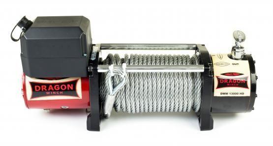 Troliu electric auto- DRAGON WINCH Maverick HD 13000 lbs 12 v 5.9t hus