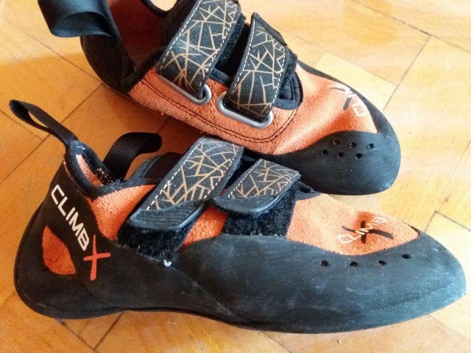 Катерачни обувки, дамски, юношески обувки за катерене, номер 37