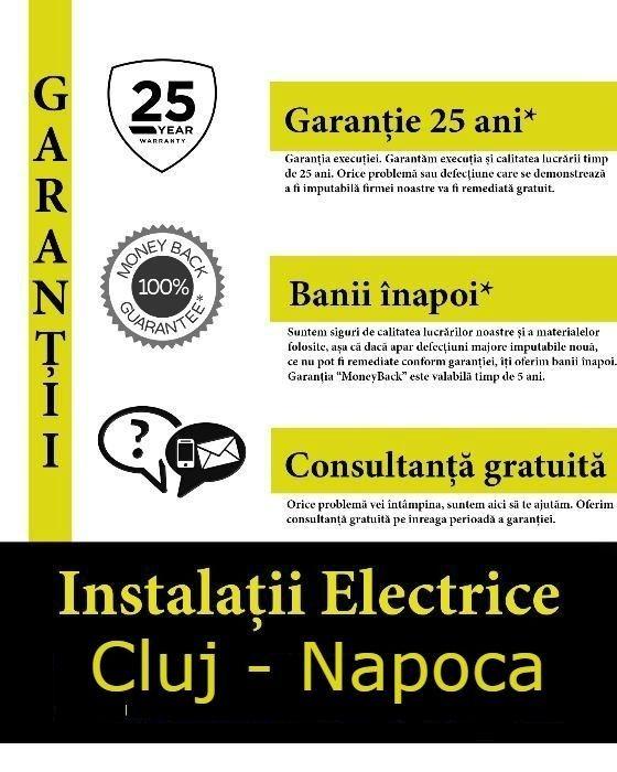 Electrician pasionat si Autorizat ANRE Non-Stop 24/7 *prețuri minime Cluj-Napoca - imagine 8