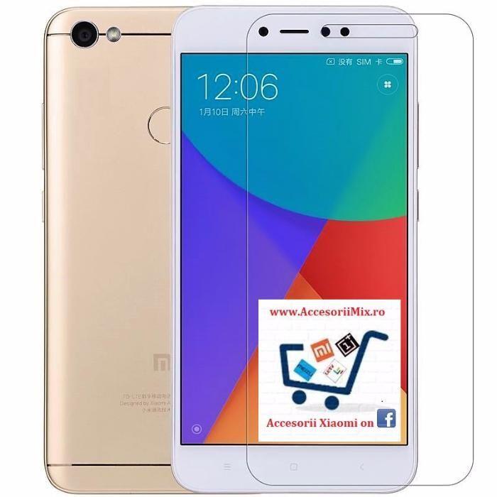 Folie sticla, Husa Silicon Xiaomi Redmi 5a, Redmi Note 5a / Prime, Y1