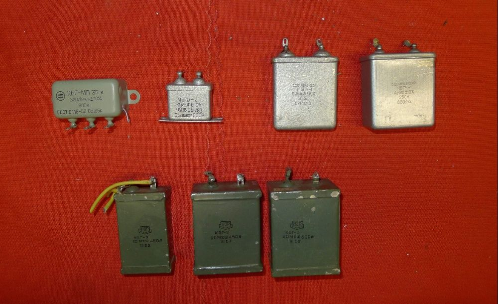 За майстора:Най-качествени кондензатори