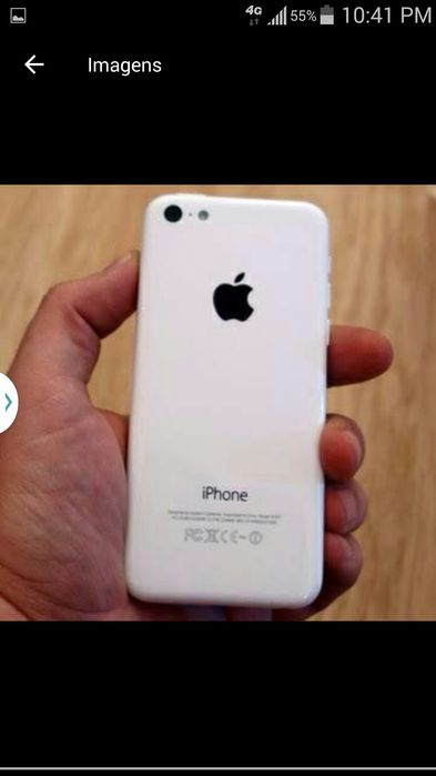 IPhone 5c novo fora da caixa 16 gb