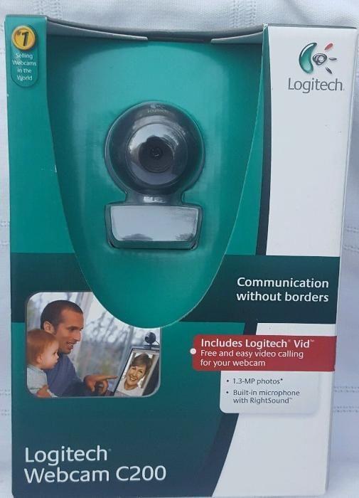Outlet - Webcam C200 USB 2.0 Logitech