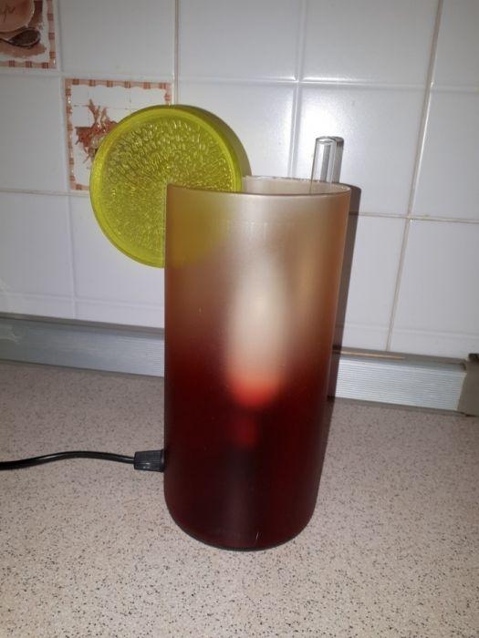 Светильник, стакан коктейльный