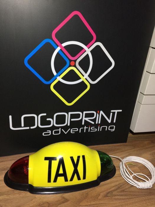 Lampa / caseta cupola taxi Microsif